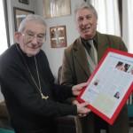 Ringraziamento a Monsignor Loris Capovilla