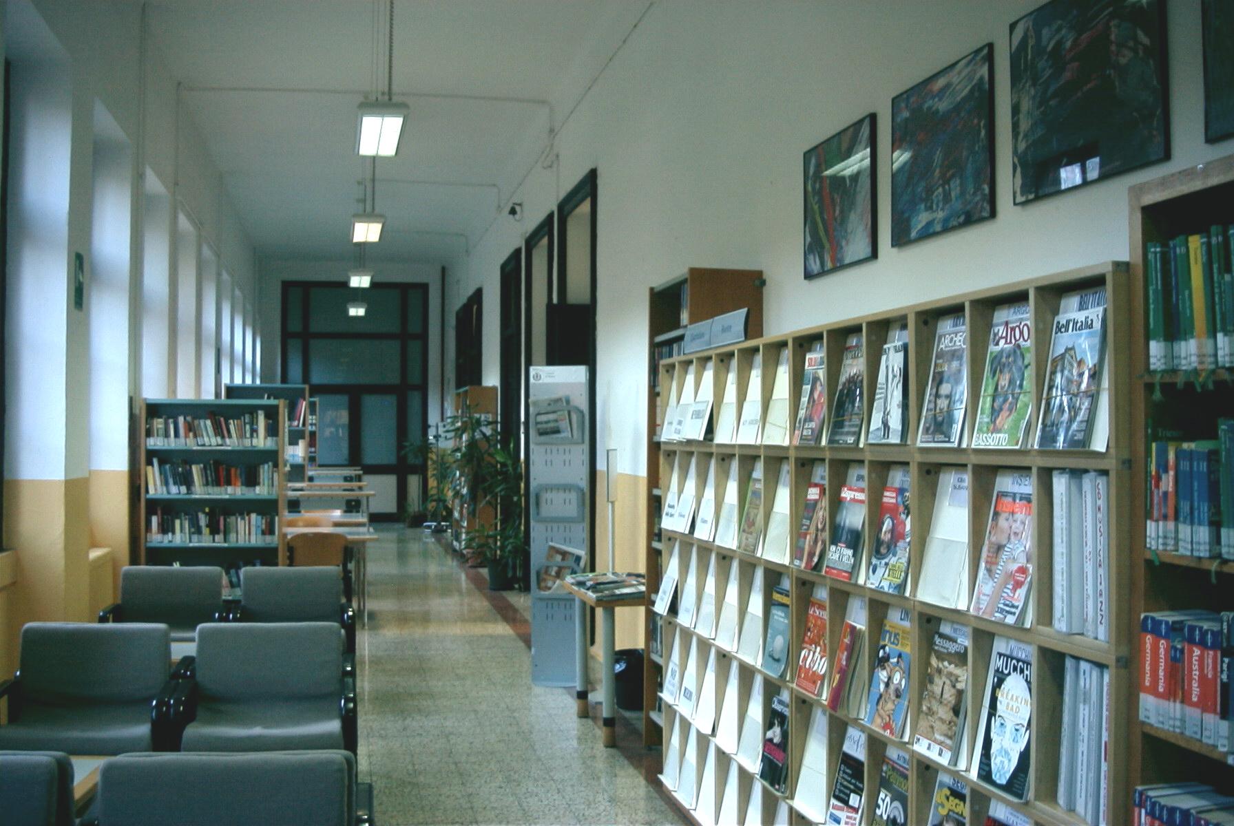 Una biblioteca per chi ama l'arte e la storia