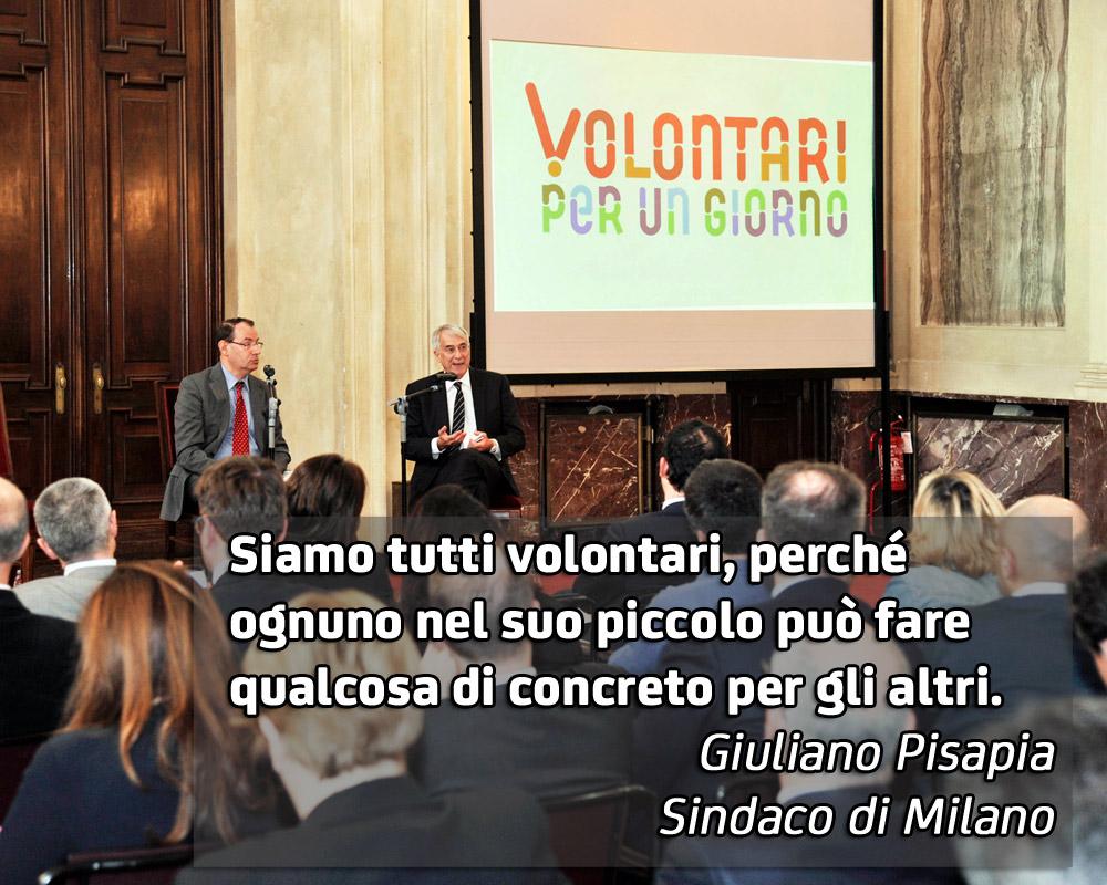 A MILANO IL VOLONTARIATO DIVENTA FORZA CIVILE