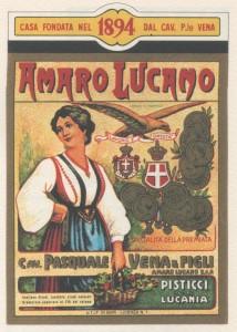 ilMIRINO - etichetta Amaro Lucano