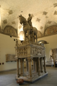 Il monumento di Bernabò Visconti da restaurare