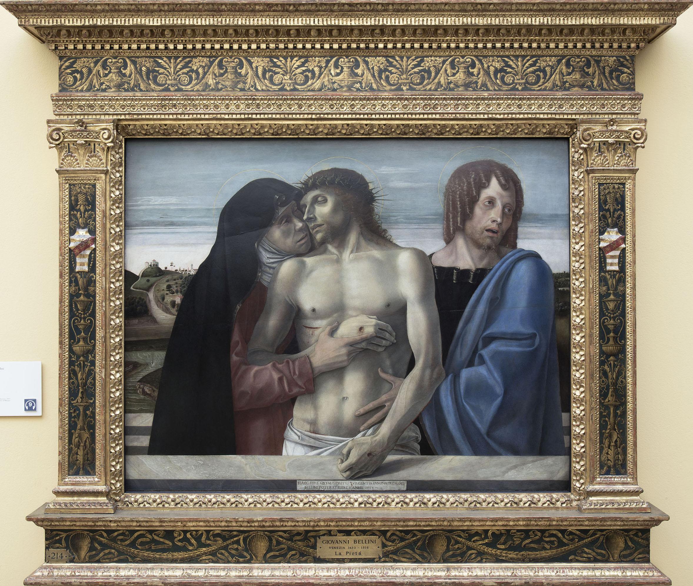 """Giovanni Bellini: un grande messaggio di """"Pietà"""""""