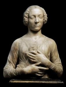 Andrea del Verrocchio - Donna col mazzolino