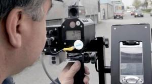 Controllo della velocità tramite autovelox