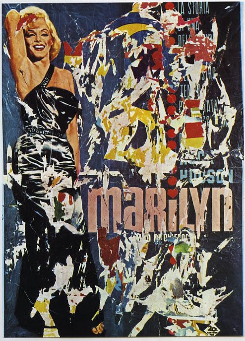 PALAZZO REALE: MIMMO ROTELLA décollages retro d'affiches