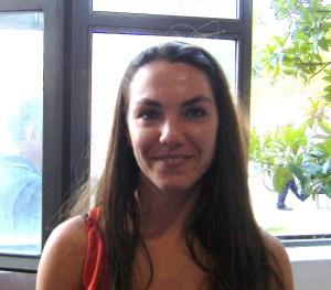 La vincitrice nella sezione Studenti Livia Oliveti