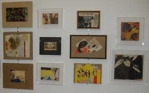 """Una serie di """"piccoli quadri"""" di Rotella"""