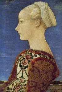 Piero del Pollaiolo (?) Ritratto femminile Gemaweldegalerie