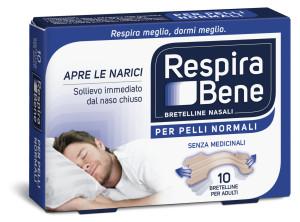 RespiraBene Bretelline Nasali Pelli Normali