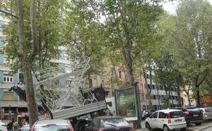 1 Il camion che casualmente ha provocato l'incidente (1)