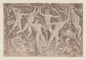 Antonio del Pollaiolo - Battaglia dei dieci nudi
