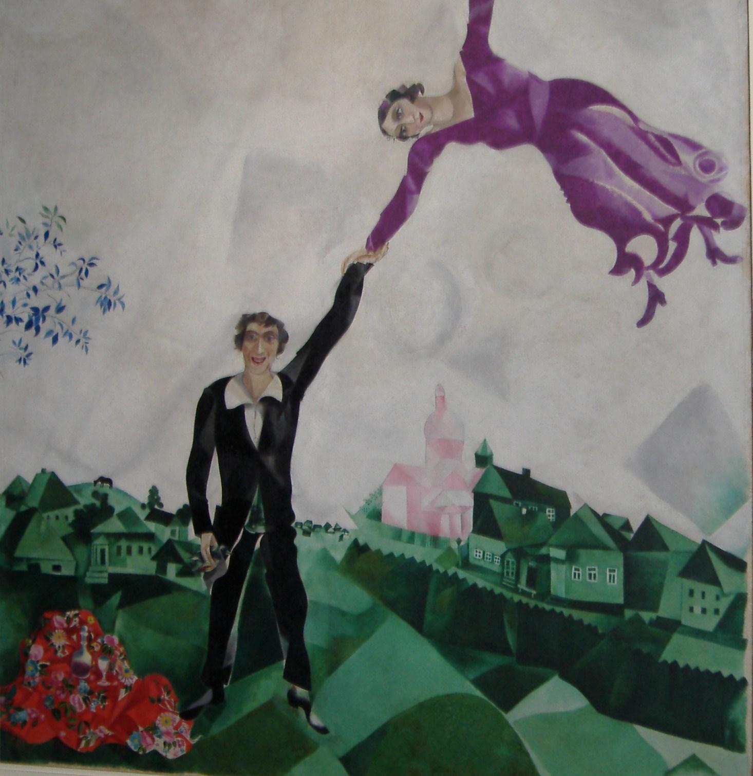 Il linguaggio pittorico universale di Chagall