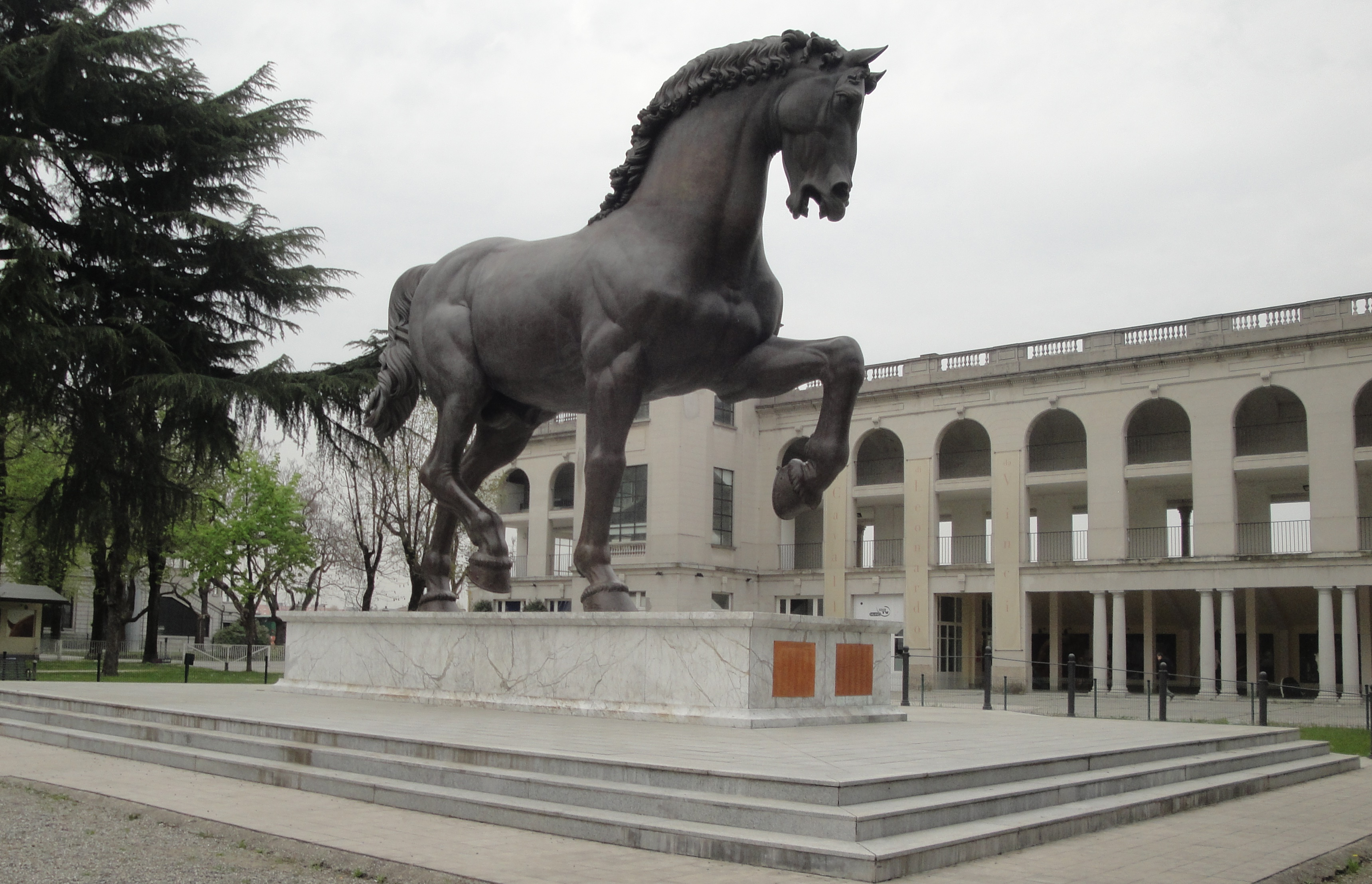 IL CAVALLO LEONARDESCO ALL'EXPO 2015