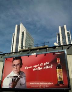 2 Manifesto pubblicitario di oggi in Zona Garibaldi MI