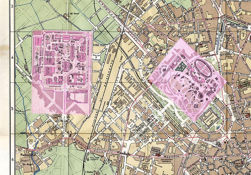 ESPOSIZIONE INTERNAZIONALE DI MILANO DEL 1906