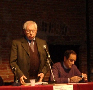 Il sottosegretario Baretta con Mirabelli
