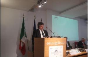 L'ing. S.Iuzzolini apre i lavori del meeting