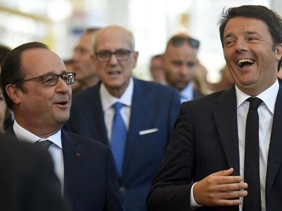 Hollande visita l'EXPO