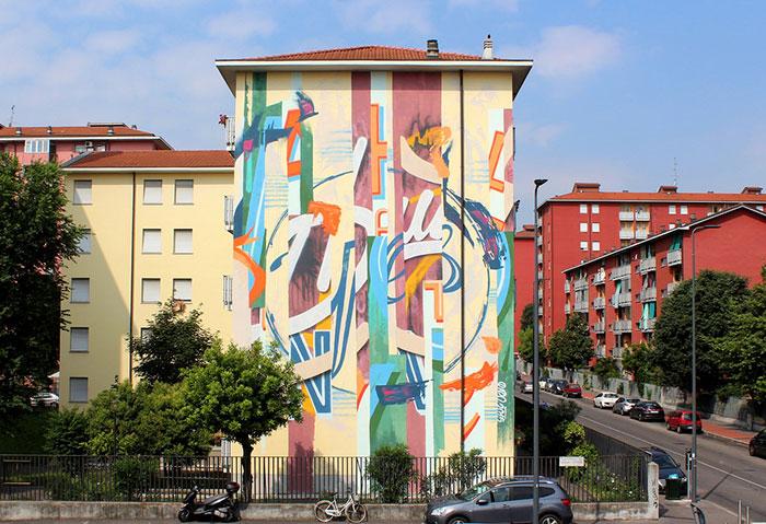"""CHAINED"": STREET-ART IN MOSTRA ALL'HANGAR E NON SOLO"