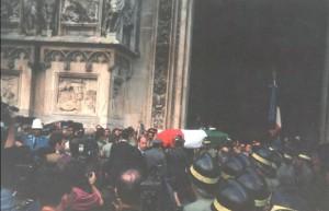 30 luglio 1993 - il funerale delle vittime in Duomo