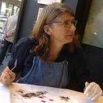 CARRÉ D'ARTISTES: ESPONE E DIPINGE NATHALIE LEVERGER