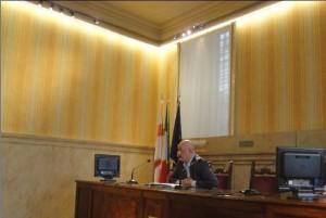 G. Ghezzi, presidente della Commissione Sicurezza