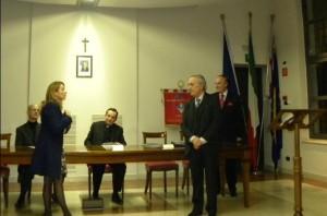 Il saluto di Antonella Viola sindaco di Lacchiarella