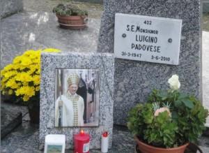 La tomba di Mons. L.Padovese