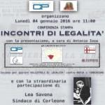 Il Sindaco di Corleone Lea Savona alla Fondazione Perini