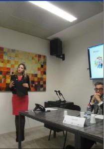 Joselinne Calderòn, responsabile dell'Area Mobilità