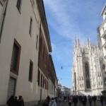 Da via dell'Arcivescovado a via Cardinale Carlo Maria Martini