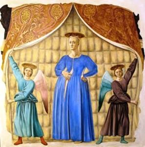 Madonna del parto di Piero della Francesca