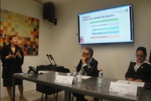 L'intervento della dottoressa Gina Rosales, psicologa