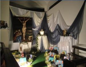 Il Ciborio nella Chiesa di Cristo Re a Pisticci
