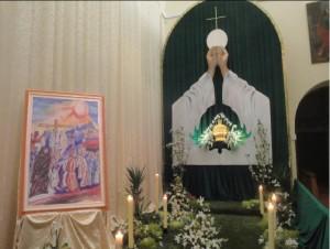 Il Ciborio nella Chiesa di Sant'Antonio a Pisticci