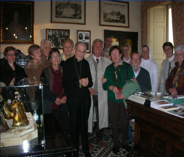 """Incontro coi volontari Associazione """"Amici don Palazzolo"""", 9 novembre 2008"""