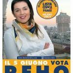Daniela Reho candidata al Consiglio Comunale