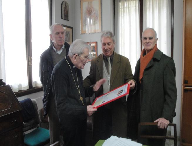 Nello studio di Monsignor Loris Capovilla