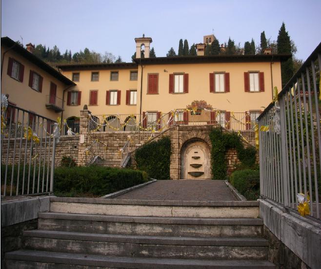 La villa Ca' Maitino di Sotto il Monte