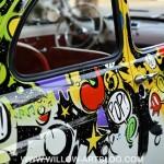 Domenica 16 ottobre, la 500 Fiat targata Willow all'Art Gallery 38