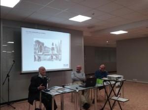 Gli oratori: T.Barbato, S. Galli e L.Catalano