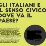 Gli Italiani e il senso civico