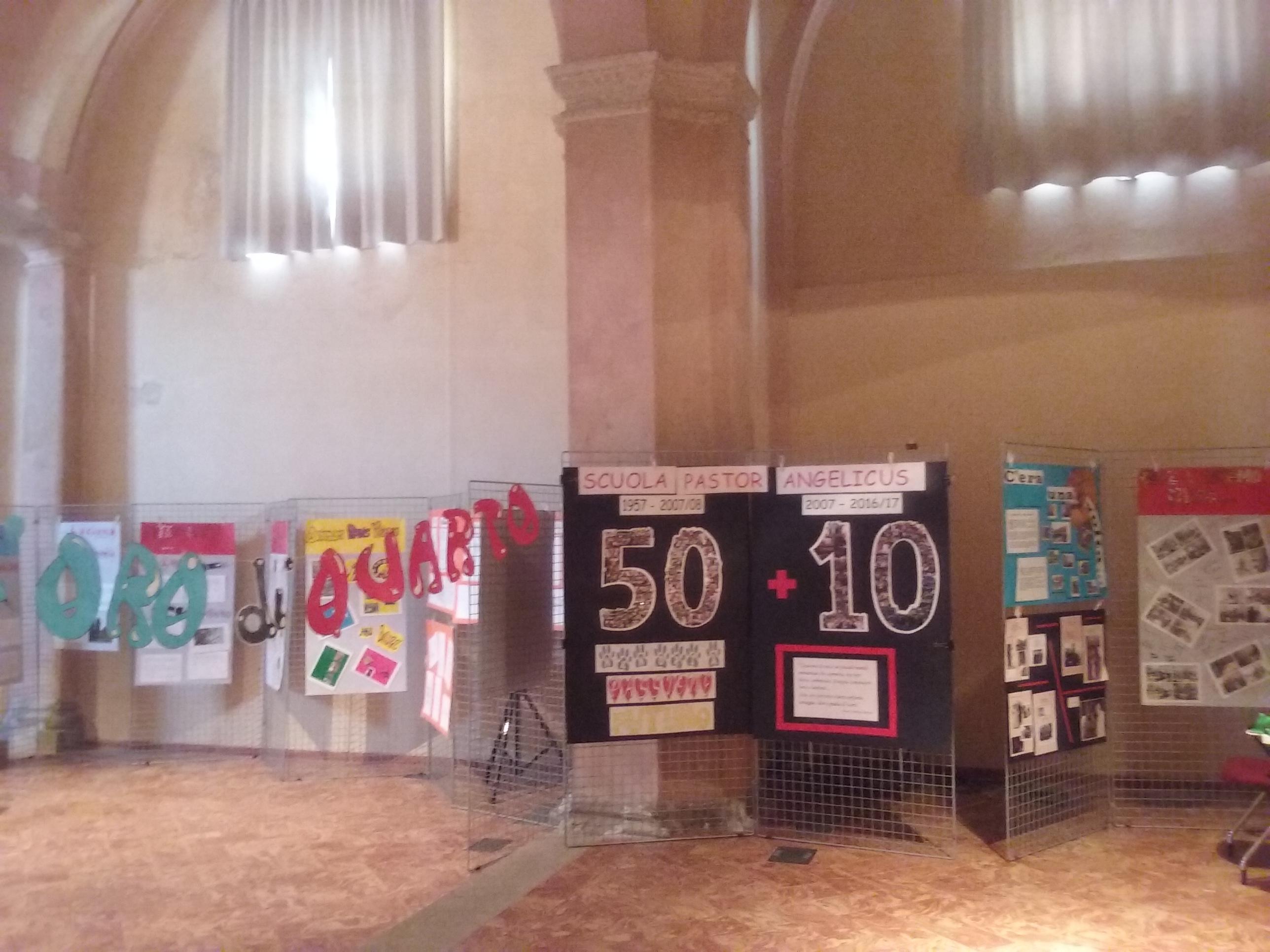 03 Alcuni pannelli della mostra