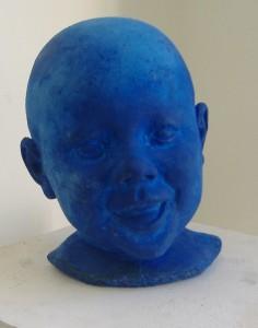 Una scultura di Mello Witkowski Pinto