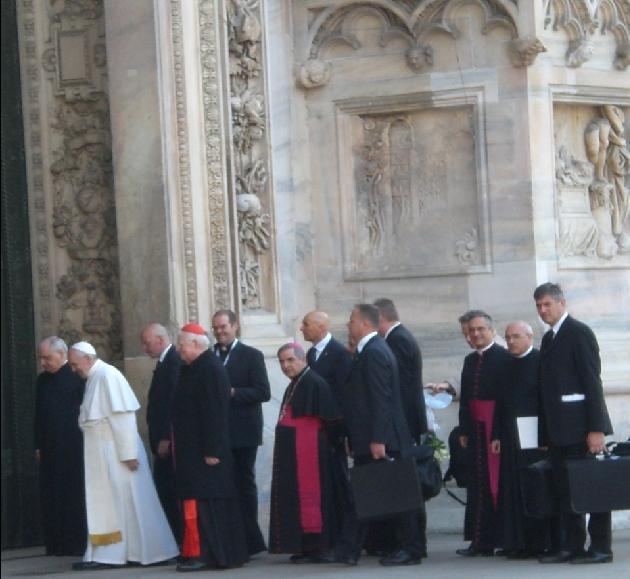 Ingresso del Santo Padre in Duomo