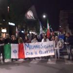 Corteo di protesta contro il degrado dei nostri Quartieri