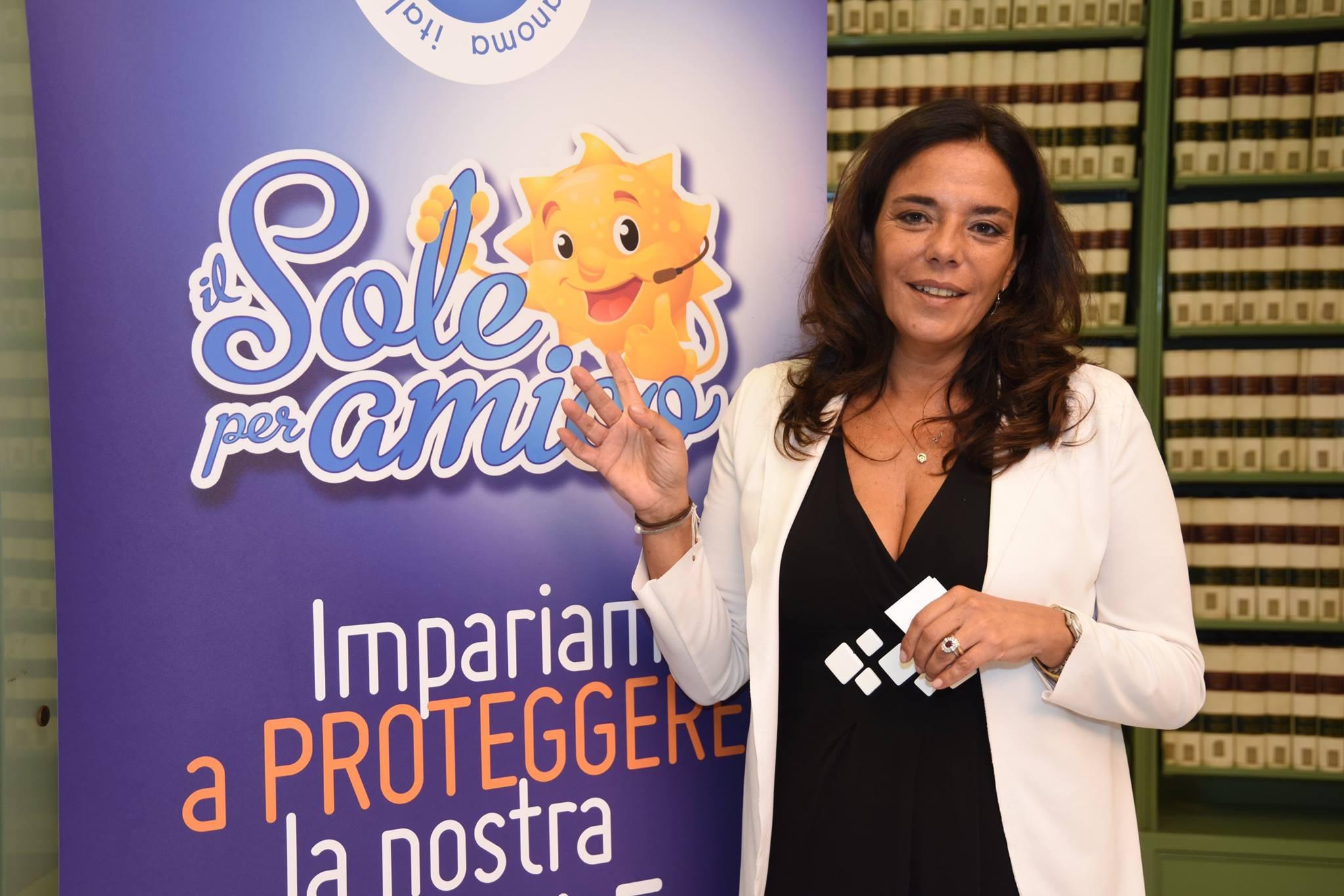 """Paola Queirolo, Ideatrice della campagna """"Il Sole per amico"""", Presidente uscente IMI,  UOC Oncologia Medica IRCCS-AOU San Martino-IST di Genova – E-mail: paola.queirolo@hsanmartino.it"""