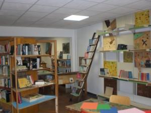 L'arredamento della biblioteca