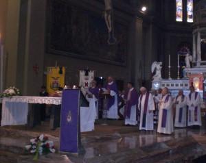 La celebrazione della Santa Messa
