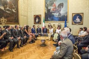 I Rappresentanti dell'associazioni e del Municipio 8 incontrano la presidente Laura Boldrini